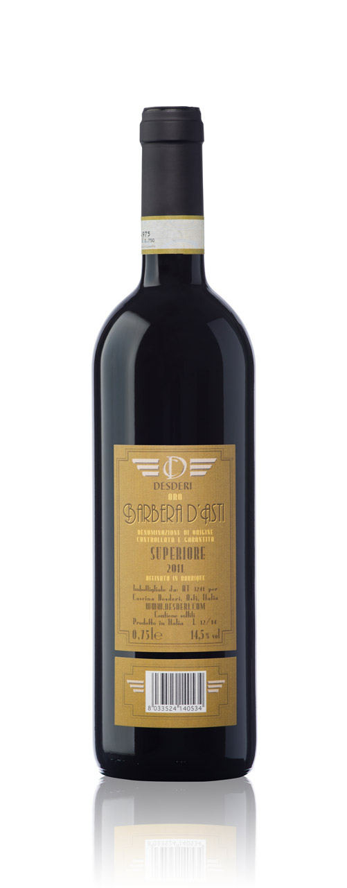 Red wine: Desderi Etichetta Oro