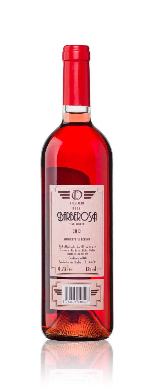 Rosè wine: Desderi Etichetta Rosa – Barberosa