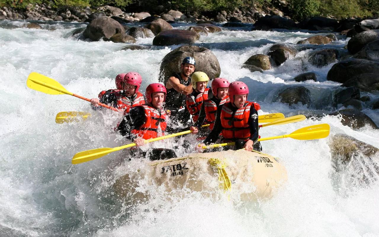 Rafting & Vannsport