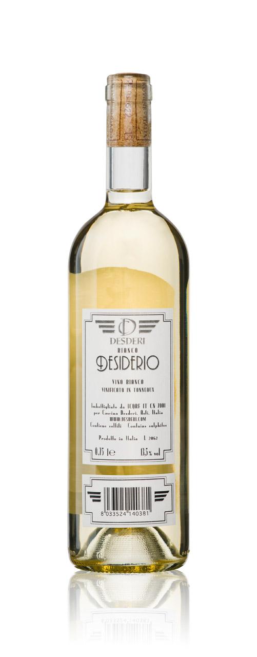 Desderi white wine Etichette Bianco – Desiderio
